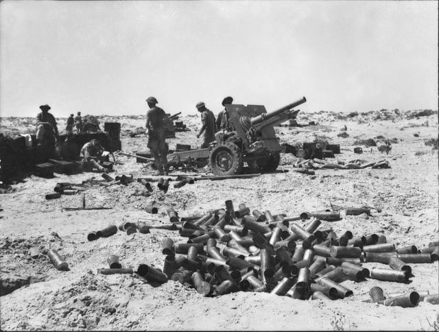 25ポンド砲(イギリス):「われわれの8.8cm砲」と呼ばれた傑作野砲