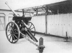 90式野砲(日本):大砲の開発に遅れをとった日本が採用したフランス ...