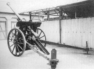 90式野砲(日本):大砲の開発に遅れをとった日本が採用したフランス生まれの優秀野砲