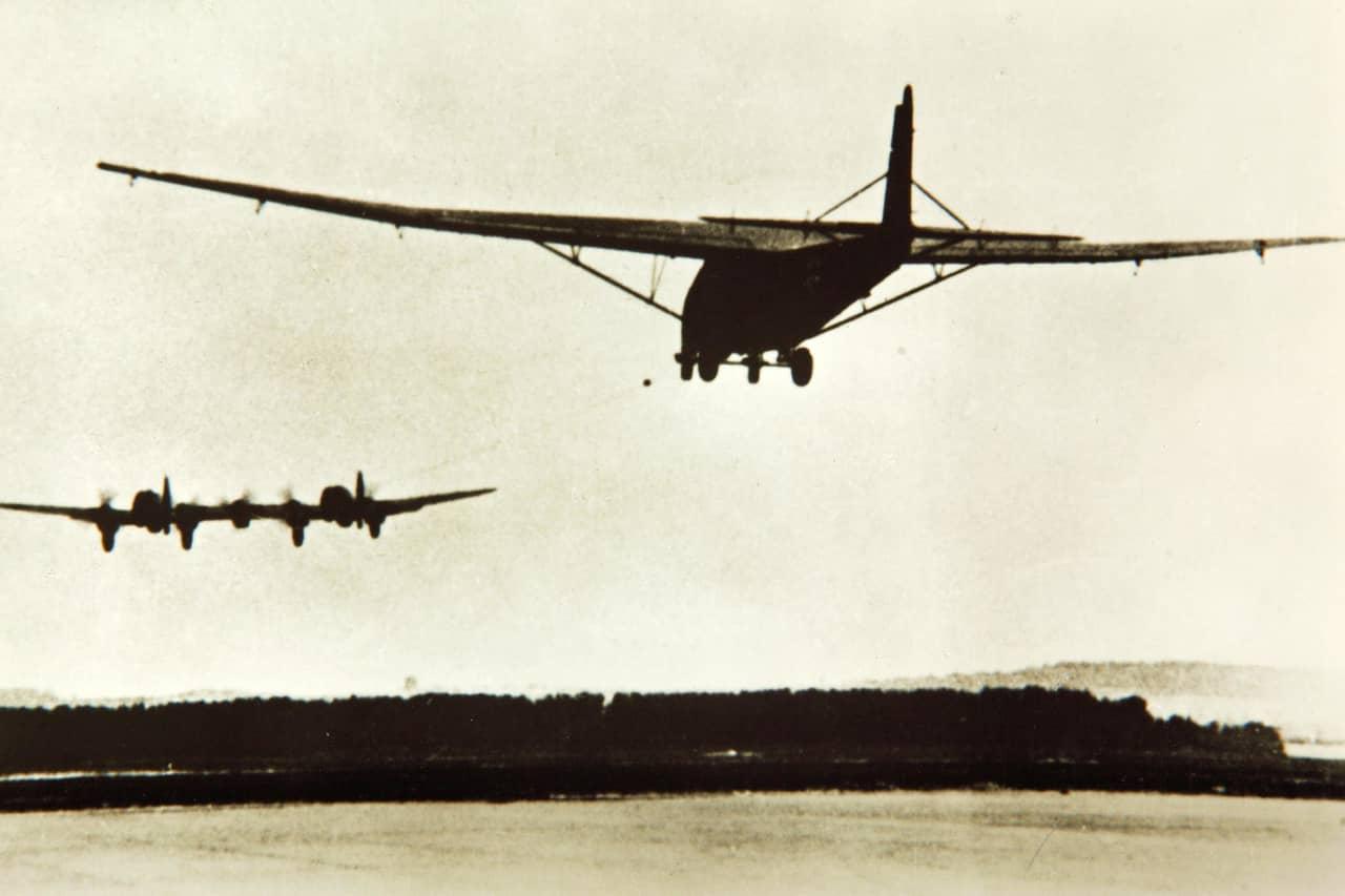 蒼空を飛翔する「巨人」、メッサーシュミットMe321ギガント(ドイツ)