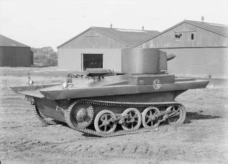 前史:水陸両用戦車の起源と黎明