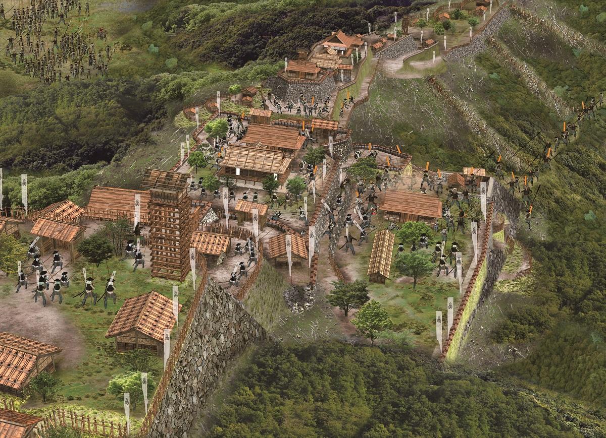 小谷城攻め1570〜73年<その4>~浅井の後詰援軍から落とす戦略で絶望感を味わわせる