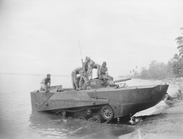 特型内火艇と呼ばれた水陸両用戦車