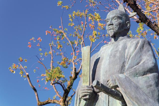 常泉寺秀吉公像
