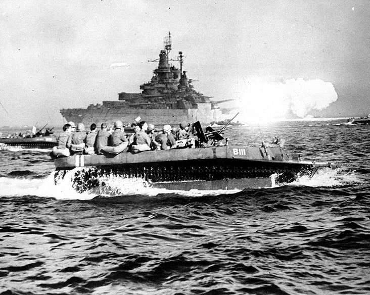 アメリカ軍の太平洋飛び石戦略を支えた名機LVT