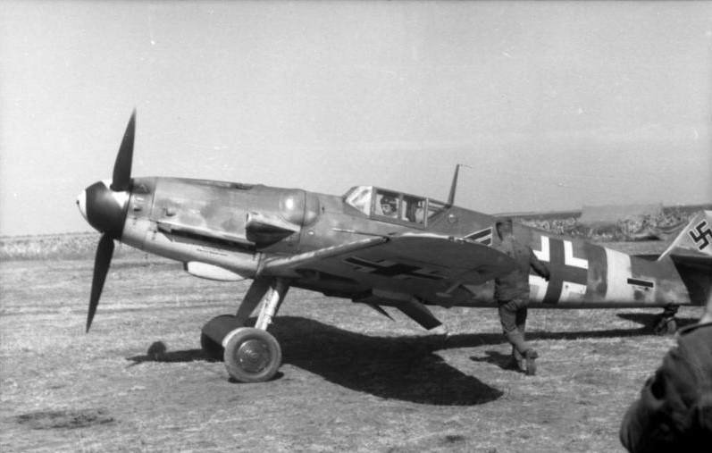 メッサーシュミットBf109×ゲルハルト・バルクホルン ~ドイツが誇る世界的名戦闘機