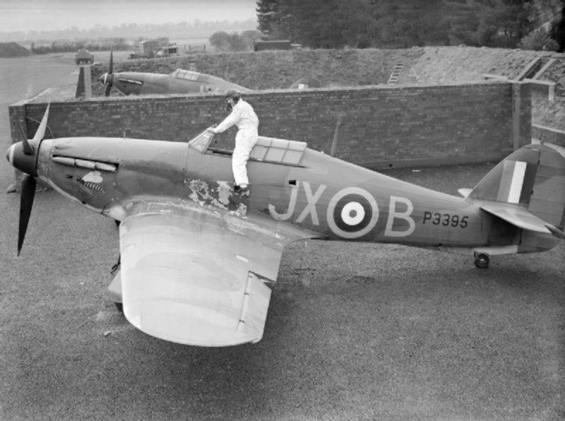 ホーカー・ハリケーン×マーマデューク・トーマス・セントジョン・パトル(イギリス空軍)~航空テクノロジー過渡期の象徴