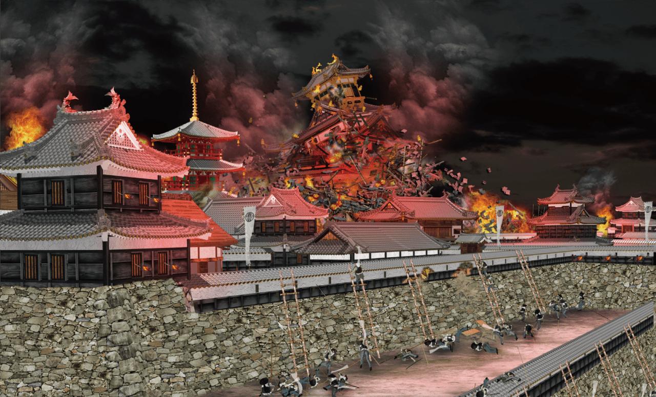 伏見(ふしみ)城攻め1600年<その3>~20倍以上の兵力と渡り合った籠城の瓦解(がかい)