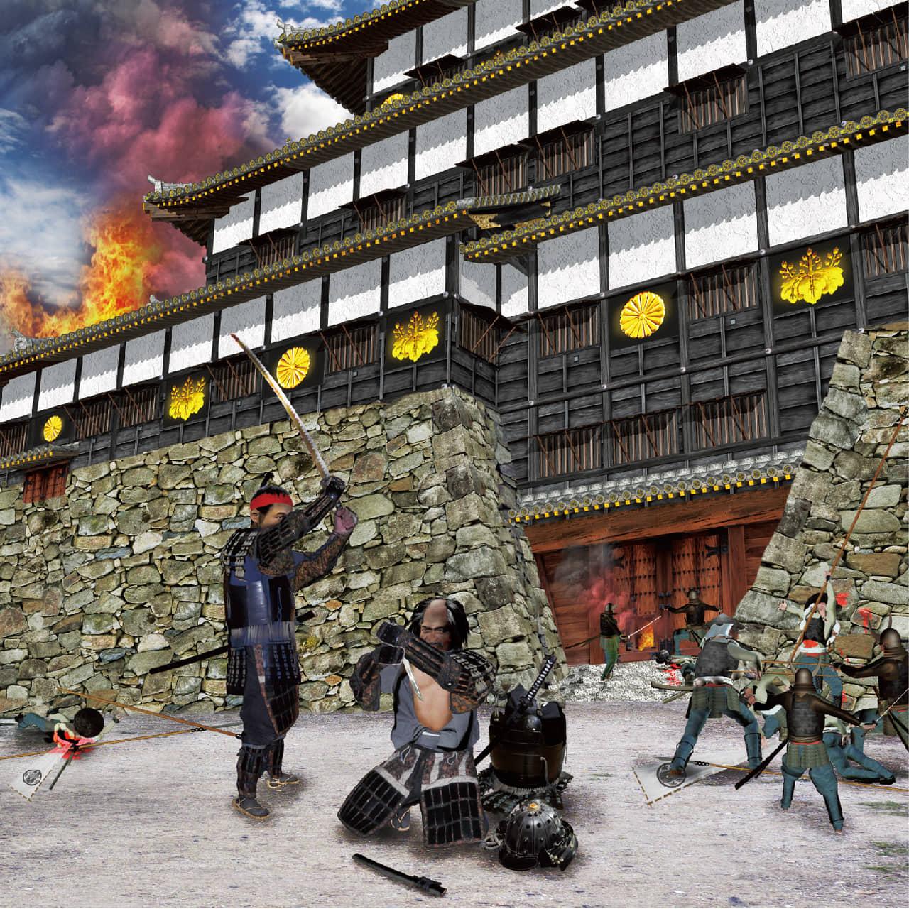 伏見(ふしみ)城攻め1600年<その4>~秀吉が築城技術の粋を集めた「天下人の城」かく戦えり