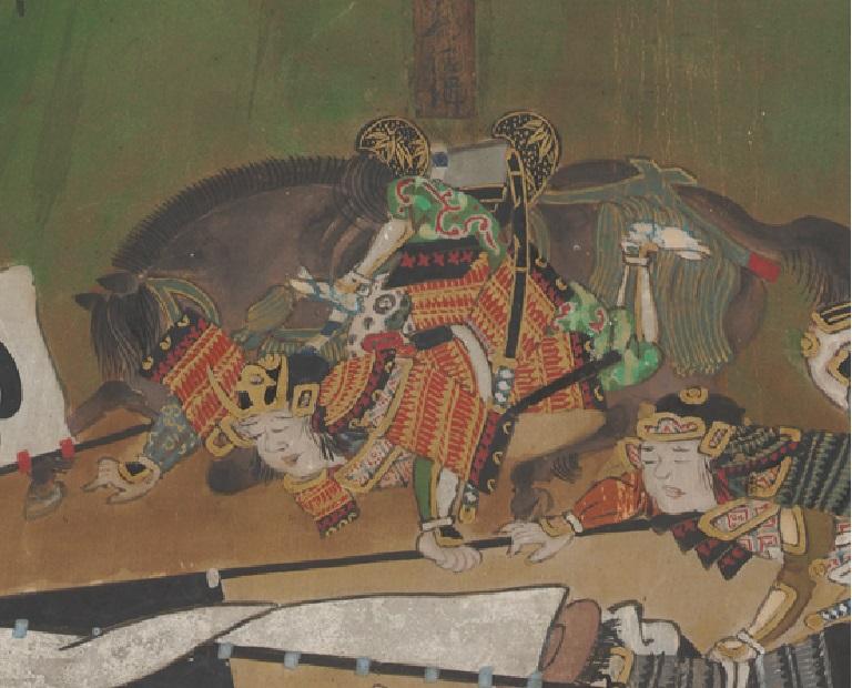 長篠合戦で討ち死にした真田家の惣領・真田源太左衛門信綱(さなだげんたざえもんのじょうのぶつな)