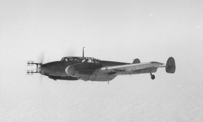 メッサーシュミットBf110×ハインツ・ヴォルフガング・シュナウファー(ドイツ空軍)~夜戦型として復活した爆撃機