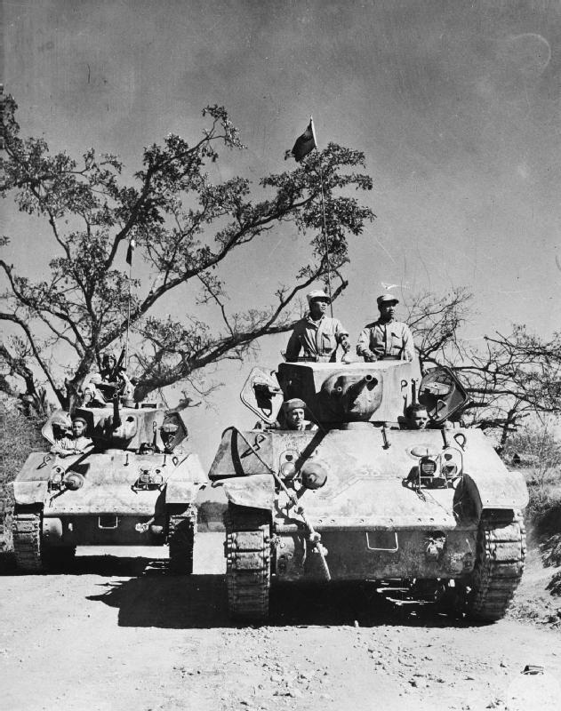機械的信頼性が高かったM3/M5スチュワート軽戦車(アメリカ)