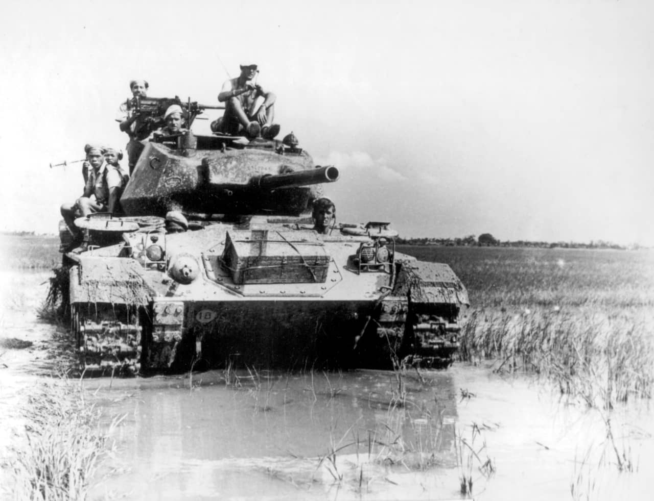 第2次大戦に投入された最良の軽戦車M24チャーフィー(アメリカ)