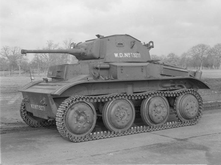遅すぎた軽戦車Mk.VIIテトラーク(イギリス)