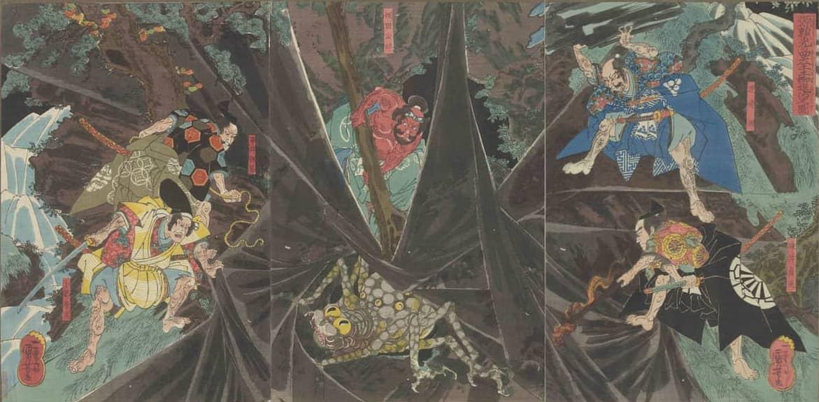 土蜘蛛(つちぐも)~山中の異形の妖怪も、元は善良な民だった⁉