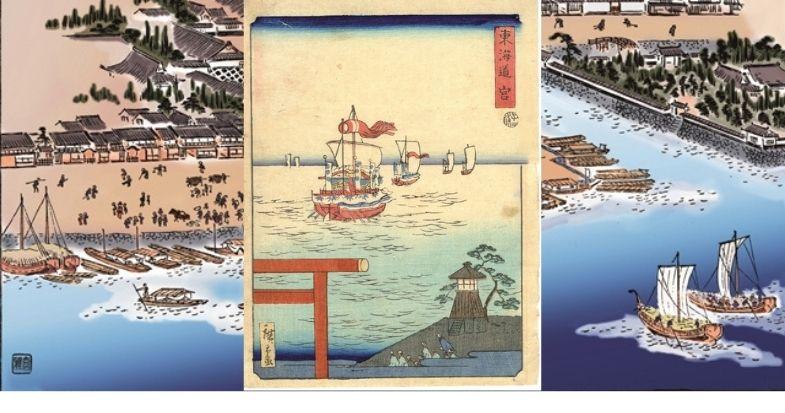 江戸と京を結んだ名古屋の『七里の渡し』─尾張の海の玄関口として東海道最大の宿場町として─