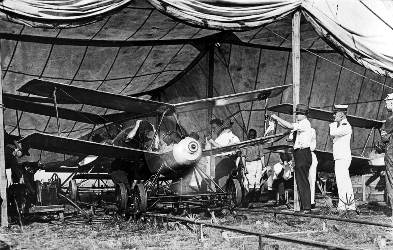 第1次世界大戦直後に開発されたドローン