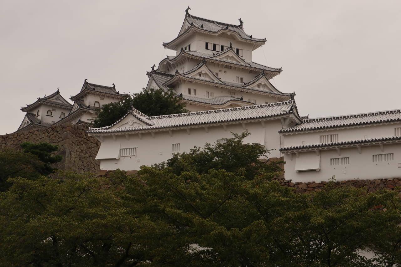 姫路城(兵庫県姫路市)~白亜の変遷