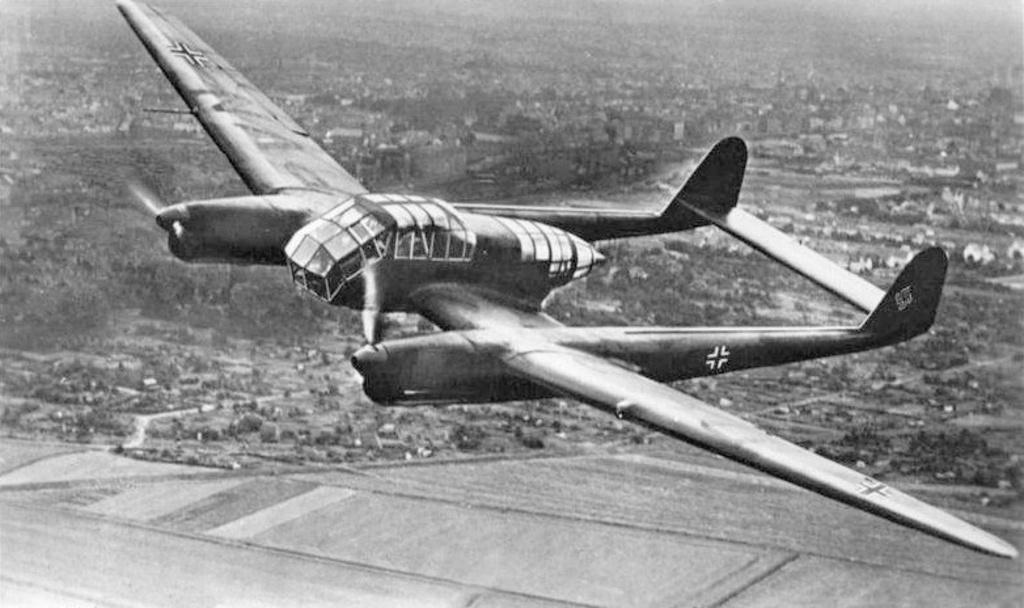 パンツァートルッペンを助けた双胴の翼:Fw189ウーフー