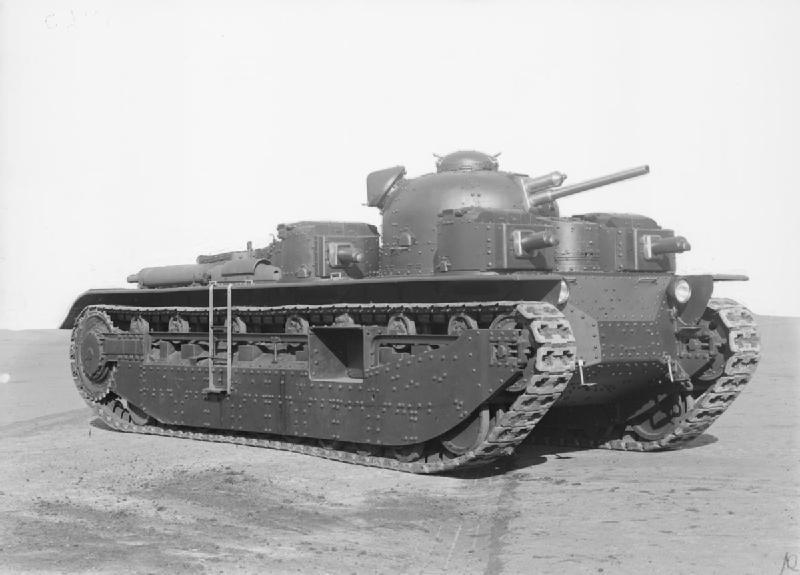 「陸上軍艦」の戦艦を目指したがあまりの高額に挫折:A1E1インディペンデント(イギリス)