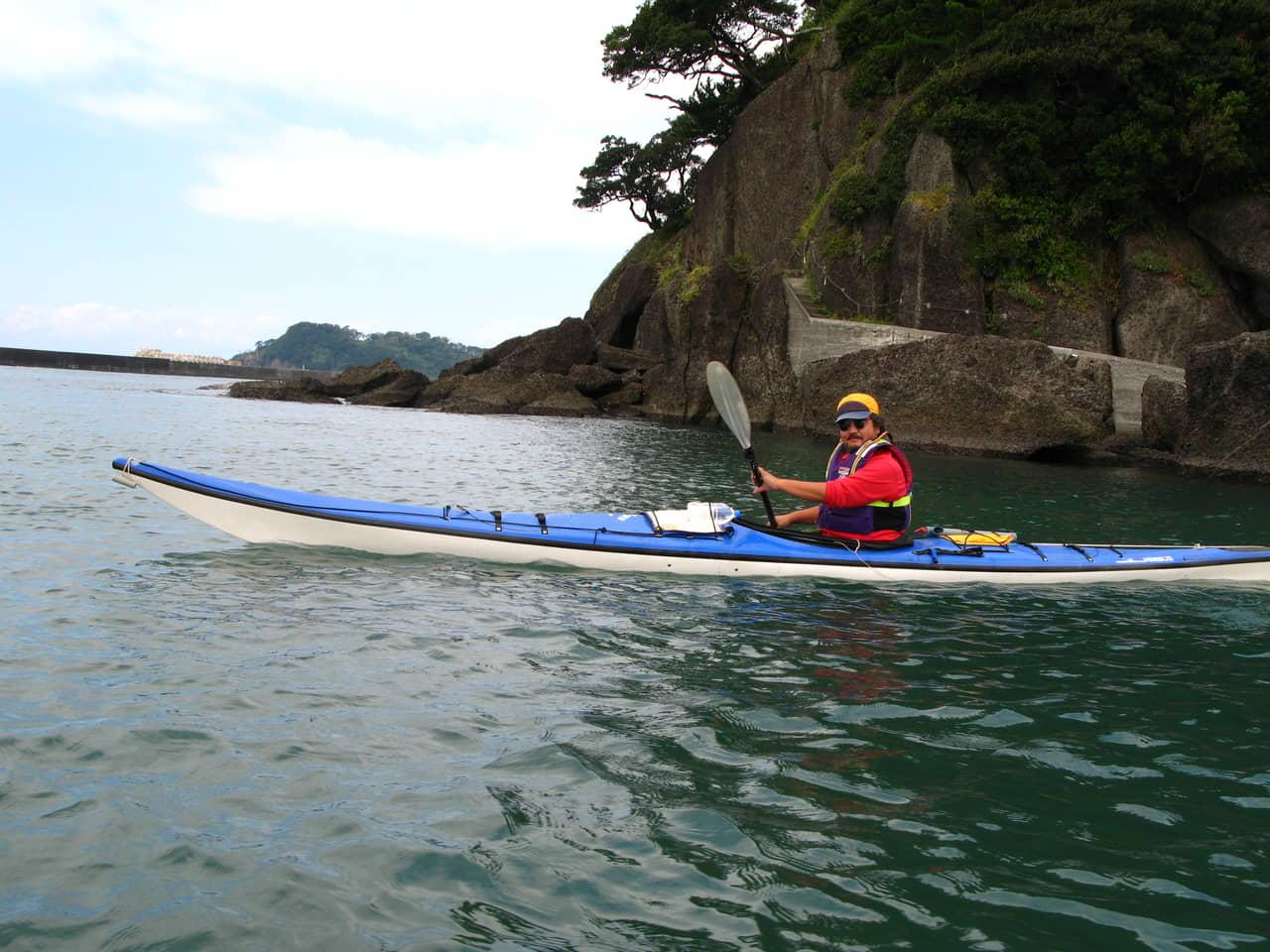 現代版の小早船・シーカヤックを駆使して 村上水軍の海を体感し戦術を探る