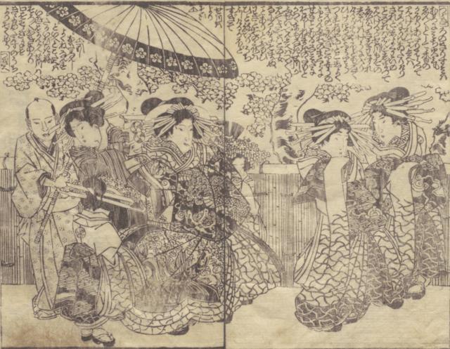 江戸の最高級の遊女たち ── 吉原で働いた女たちが創出した夢幻の世界 ~ 中編 ~