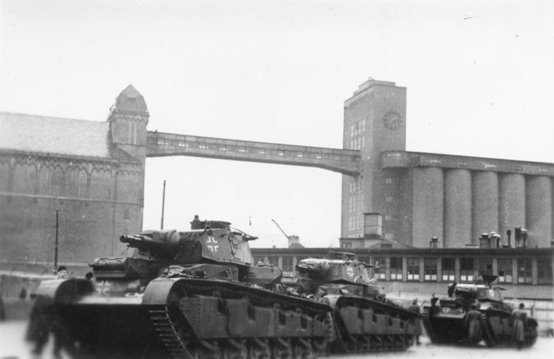 実戦に参加できたのは戦車不足のおかげ:NbFz(ドイツ)