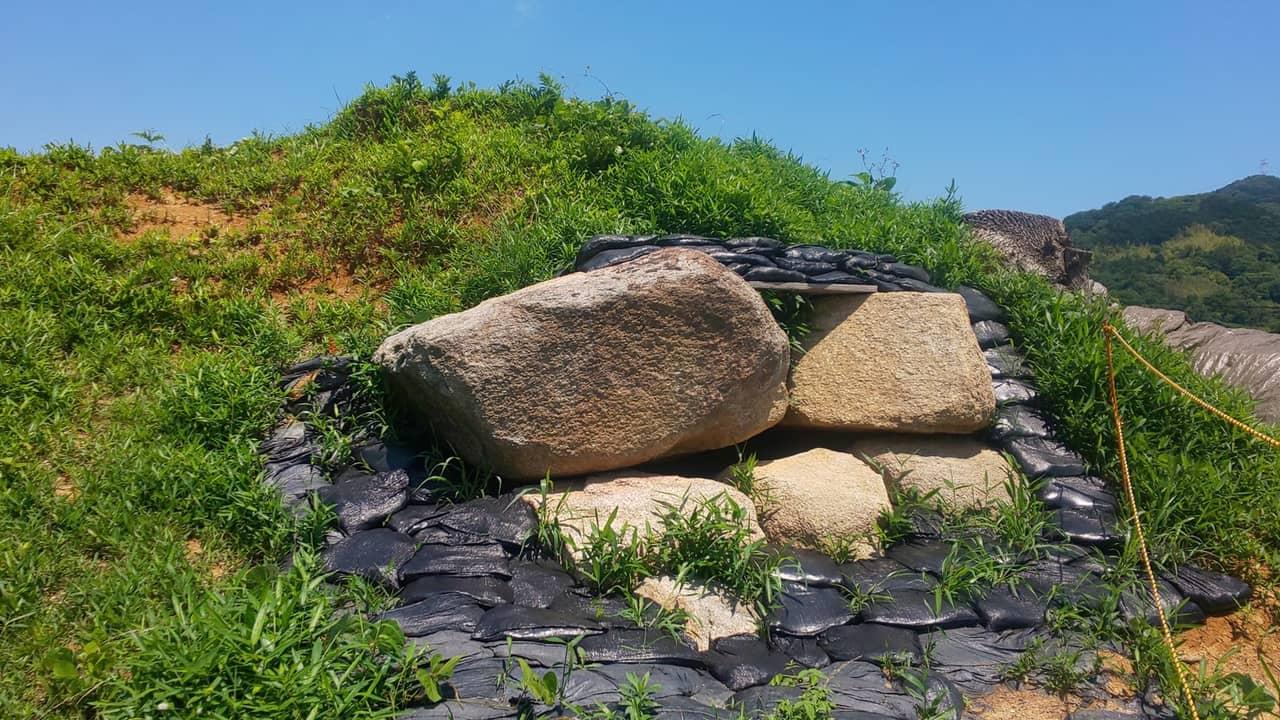 大阪府南河内郡太子町の双方墳は蝦夷と入鹿の双墓(ならびのはか)なのか⁉