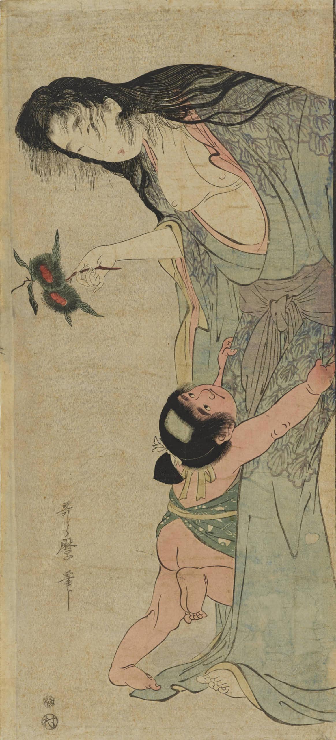 十二鬼月・上弦の陸(ろく)の堕姫(だき)のモチーフは、あのおぞましい山姥だったのか?