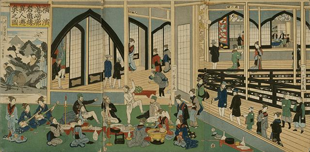 横浜にあった遊廓・港崎は庶民だけでなく武士までもが憧れた【横浜・港崎遊郭】