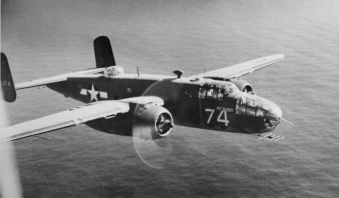 日本本土初空襲をこなしたアメリカ双発爆撃機きっての「軽業師」:ノースアメリカンB-25ミッチェル