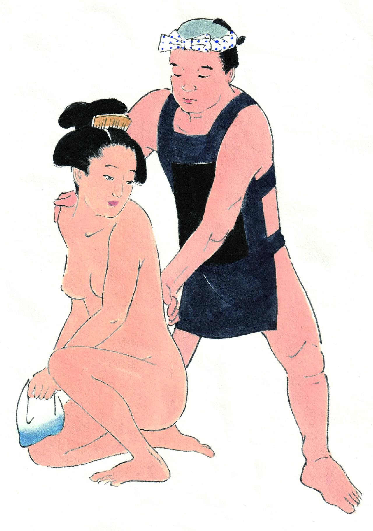 お金をもらって触る、揉む…「三助」はなぜ、裸の女性を相手に仕事ができたのか?