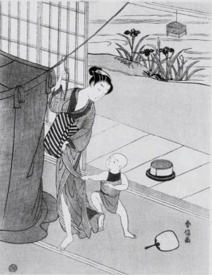 江戸 蚊帳