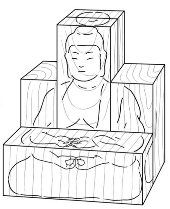 「仏像」造りに秘められた木材へのこだわりと手法について--「仏像の味わい方」こぼれ話