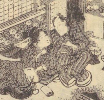 【江戸の性語辞典】情事、男女関係、愛人などを意味した「いろ」