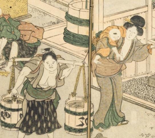 江戸の長屋生活の食事は3食、バランスが取れた健康食だった