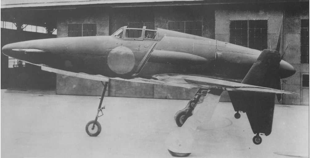 不世出で終わった異形の局地戦闘機:震電(しんでん)